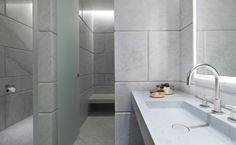 David Chipperfield Architects Bathroom in the Cafe Royal Hotel, London