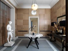 Classic-contemporary interior at Florence's Palazzo Tornabuoni, a member's only residence club. Palazzo Tornabuoni, Florence