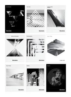 Josip Kelava a réalisé l'identité visuelle globale pour Manifesto, un concours photo noir et blanc pour les universitaires qui étudient la photographie à Melbourne.