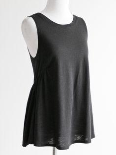 Tautmun - SIMMO BABYDOLL TANK - BLACK, $12.99 (http://www.tautmun.com/simmo-babydoll-tank-black/)