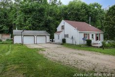 Enjoy peace and quiet on your own acre plot with room to garden, with lots of neighboring trees to provide privacy. This 3 bedroom home features a great floor plan, nice sized rooms, open kitchen eating area and living room with vaulted ceilings, letting in lots of natural light. Over sized garage and additional shed offer lots of extra storage space. Come see it today.