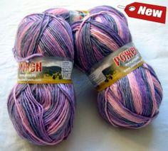 Multicolor wool yarn rojen by HandyFamily on Etsy, €4.60