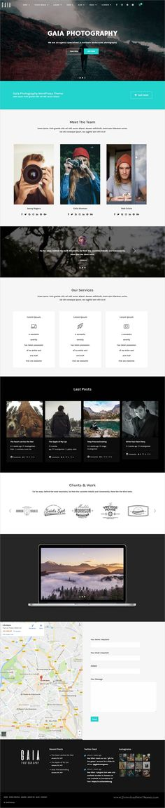 Gaia is a wonderful 15in1 responsive #WordPress theme for stunning #photography and stock #images website download now➩ https://themeforest.net/item/gaa-photography-and-stock-images-wordpress-theme/19335994?ref=Datasata