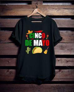 9a0e0767f547de Amazing funny Cinco De Mayo T shirt design for men