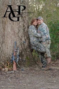 Couple photography Camo country redneck photo Engagement picture