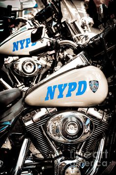NYPD Harley Davidson motorcade, the old motorcycles - Can they ride for our wedding? can these bikes be parked in front of the church please?
