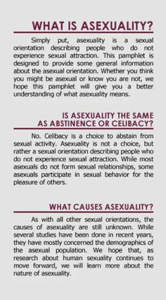 Mostly asexual meaning