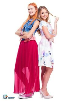 #Maggie! #Bianca!! Prom Dresses, Summer Dresses, Formal Dresses, Teen Shows, Austin And Ally, Friend Outfits, Friends Fashion, Disney, Womens Fashion