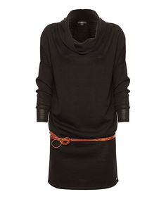Black Yarra Glen Merino Wool Sweater Dress - EMU Australia $59.99 $159.00