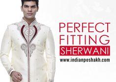 Designer Sherwani Wist best quality & range of Wedding Sherwani, Groom Sherwani, Indo-Western Sherwani.. Shop Today- www.indianposhakh.com
