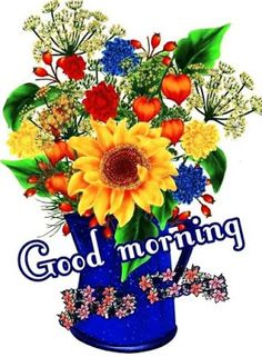 Good Morning Flowers Pictures, Cute Good Morning Images, Good Morning Beautiful Flowers, Beautiful Morning Messages, Good Morning Roses, Good Morning Inspiration, Good Morning Greetings, Good Morning Good Night, Morning Morning