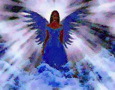 Angel...The light shines through it :O}