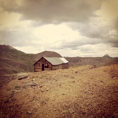 Instagram photo by @preservecolorado. Golconda Boardinghouse off of Engineer's Pass in the San Juans. Being preserved with the help of a SHF grant. #statehistoricalfund #preserveco #Golconda #historicalpreservation #historicmines #mining