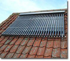 rooftop solar water heating