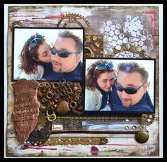 Creativa4all » MIXED MEDIA: LAYOUT MECHANICAL LOVE