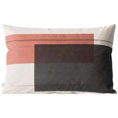 Color Block Cushion 1 (Large) Designed by Trine Andersen Color Blocking, Colour Block, Modern Throw Pillows, Kid Spaces, Cute Animals, Cushions, Interior, Bath, Design