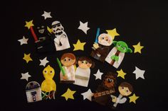 Character Finger Puppets by TinyPaperCuts on Etsy