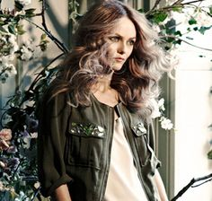 Vanessa Paradis for H and M Conscious - click through to read this article on some exciting new ethical fashion news for 2013.