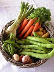 Try one new veggie a week Raw Food Recipes, Veggie Recipes, Healthy Recipes, Fresh Fruits And Vegetables, Fruit And Veg, Healthy Fruits, Healthy Eating, Vegetable Basket, Fresco
