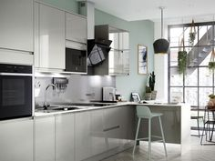 View our stunning range of Classic, Traditional and contempory Kitchen. Speak to one of our Design Consultants today. Grey Kitchen Cupboards, Kitchen Cupboard Doors, Kitchen Cabinet Knobs, Kitchen Units, New Kitchen, Kitchen Dining, Kitchen Ideas, Kitchen Inspiration, Dining Room