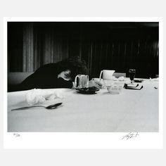 print | Bob Dylan at Table