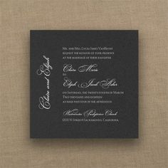 Marvelous Marquis - Imperial Invitation - Black