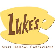 Fans of Gilmore Girls will love this fun design inspired by the sign hanging out side of Luke's Diner in Stars Hollow, Connecticut. A Luke's Diner T-shirt, hoodie, iPhone case, mug or other fun merchandise make great gifts for fans of the Gilmore Girls. #gilmoregirls #lukesdiner
