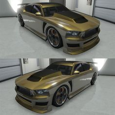 Best Cars to Customize in GTA 5 Online Bravado Buffalo S Gold Color