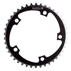 Bike Chainrings - Origin8 Alloy NonRamped Chainrings Black -- Details can be found by clicking on the image.
