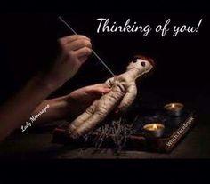 Pagan humor. Voodoo doll. Funny memes