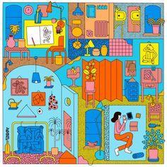 Illustrator Spotlight: Martina Paukova - BOOOOOOOM! - CREATE * INSPIRE * COMMUNITY * ART * DESIGN * MUSIC * FILM * PHOTO * PROJECTS