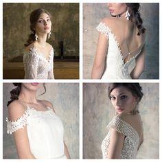 Off the shoulder bridal dresses Couture Dresses, Bridal Dresses, Off The Shoulder, Lace Wedding, Collection, Fashion, Haute Couture, Haute Couture Dresses, Bride Dresses