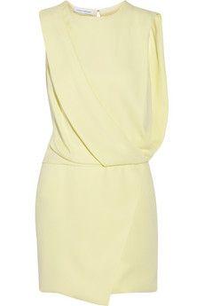 Narciso Rodriguez Draped silk-crepe dress | NET-A-PORTER