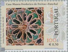 Stamp: Tegels (Madeira Islands) (Tiles of Madeira) Mi:PT-MD 201,Yt:PT-MD 208,Afi:PT 2600