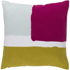 Color blocking became famous with the well-known artist, Mondrian, and has since taken over the modern design world. Our Ludwik Pillow is the perfect way to incorporate this trend into your space.