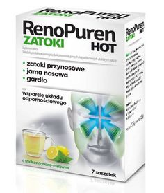 Renopuren Gulf Hot x 7 sachets, sinus infection treatment