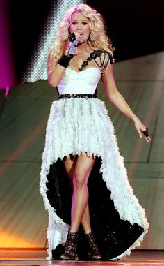 Fancy Feathers: Carrie Underwood's Best Concert Costumes