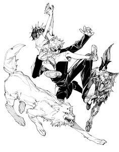 Anime Art Fantasy, Me Me Me Anime, Anime Love, Blade Runner, Cool Anime Wallpapers, Small Boy, Action Poses, Manga Art, Illustration Art