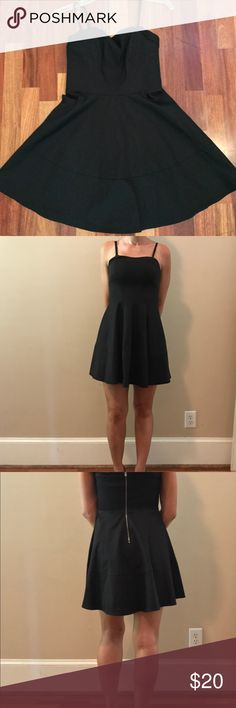 SALE 🎊 NWOT Express Size 2 Little Black Dress!!! This is a brand new without tags Express Size 2 little black dress with adjustable straps... can be worn bra less..... Please feel free to make offers or bundle deals! Happy to negotiate!! Express Dresses Mini