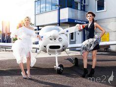 Werbeshooting am Airfield für Bonny Fersch by me2modelmanagement