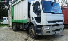 Renault Premium 260 recolha de resíduos. Muito bom estado. 283000