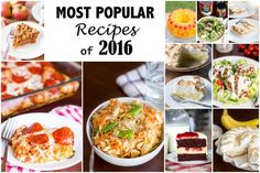Most Popular Recipes of 2016 : Kendra's Treats Most Popular Recipes, Main Dishes, Appetizers, Meal, Cupcakes, Treats, Breakfast, Food, Main Course Dishes