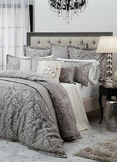 Davinci  Elmsley Mink Quilt Cover - King  Bed