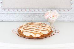 Brown Sugar Cake with Salted Caramel Icing