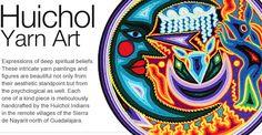 Huichol Yarn Art - Mexico