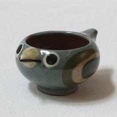Ceramic Pinch Pot Bird HabraFink_8/26/13_Ceramics