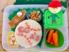 Baseball Bento by Lunch with Eyeness