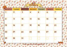 MamiGio: Monthly planner: Ottobre