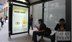 Vitamin water energy campaign- bus stops that charge your phone/ipod!