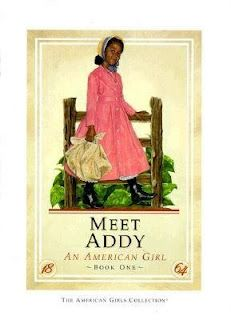 My first American Girl collection.  I loved reading Addy's books.